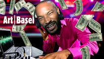 Tyson Beckford -- I'm a Model DJ ... $10k for Quick Art Basel Set