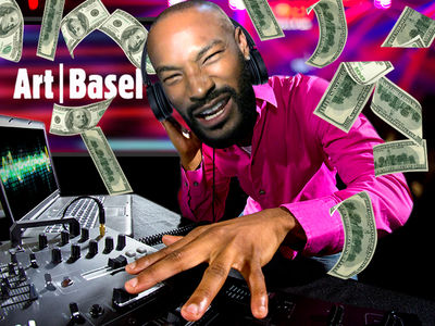 Tyson Beckford -- I'm a Model DJ ... $10k for Quick Art Basel Set