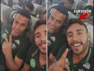 Colombia Plane Crash -- Soccer Team Survivor Instagrammed Before Crash (VIDEO + PHOTOS)
