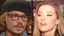 Johnny Depp Divorce -- Amber's Getting $6.8 Mil, She'll Donate It ... Eventually