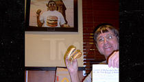 Big Mac Inventor -- Two All-Beef Patty Salute! 'Super Size Me' Guy Downs 28,984th Big Mac (PHOTO)