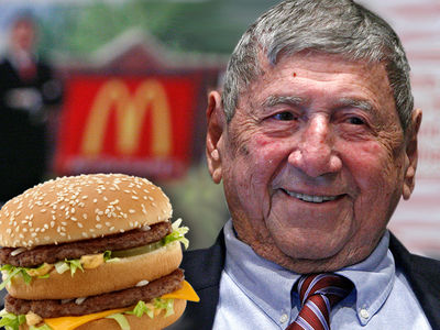 McDonald's -- Big Mac Creator Dies at 98