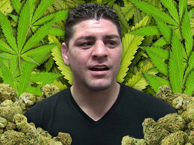 UFC's Nick Diaz -- I'm the #1 Stoner Athlete ... Besides Michael Phelps (AUDIO)