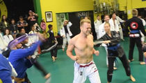 Spencer Pratt -- Gets Whipped Hard in Jiu-Jitsu Class and Loves It (VIDEO)