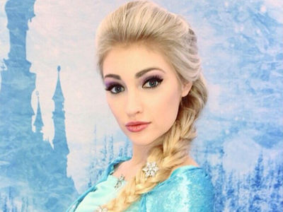 'Frozen' Look-Alike -- Nude Pics Are Too Fat to Be Me!