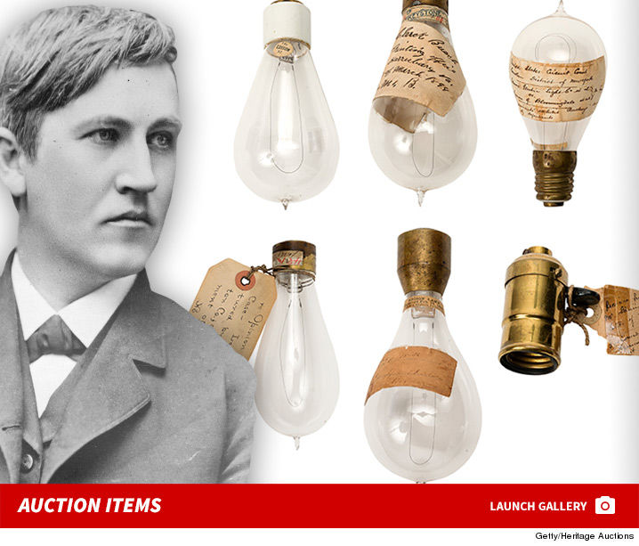 Thomas Edison Wasnu0027t Ok With People Ripping Off His Ideas, But This Is Your  Chance To Rip Off A Bunch Of His Old Memorabilia    If You Like Grossly ...