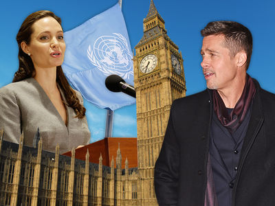 Angelina Jolie -- Angling for London with Kids and U.N.'s Top Job ... Sources Say