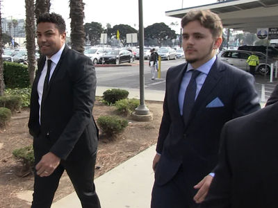 Prince Jackson -- Stands Up for Grandma in Court (VIDEO)