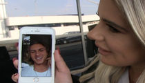 Brielle Biermann -- FaceTime Interview w/ Baseball Star BF ... Moments After Blockbuster Trade (VIDEO)