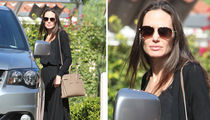 Angelina Jolie Tries to Go Low Pro During Custody War (PHOTO)