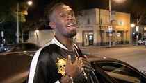 Usain Bolt Wants to Be an Action Star ... With Jason Statham! (VIDEO)