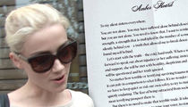 Amber Heard's Domestic Abuse Letter Is Risky Biz with Johnny Depp (DOCUMENT)