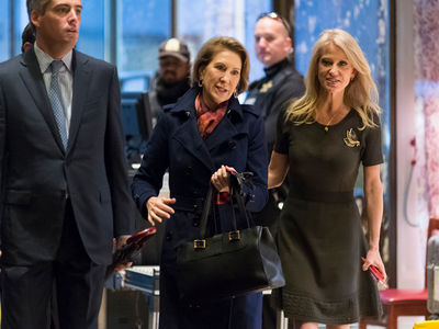 Donald Trump Hosts Carly Fiorina, Temps Drop in Hell (PHOTO)
