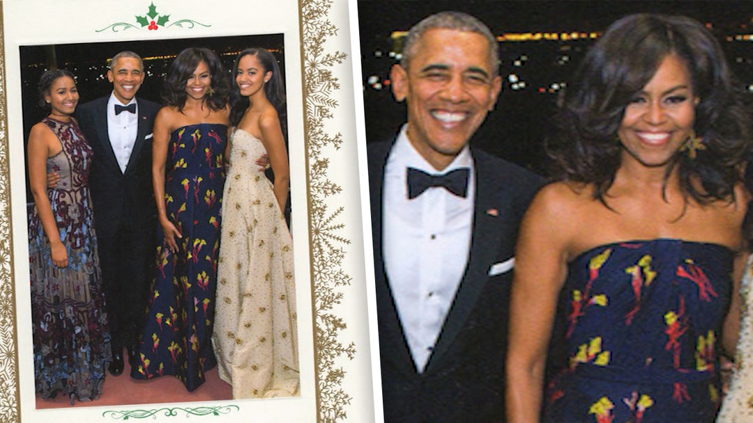 Something\'s Missing From The Obama\'s 2016 Christmas Card | Celebrity ...