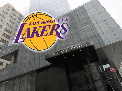 L.A. Lakers Dumping Trump Hotel Amid 'Security Concerns'