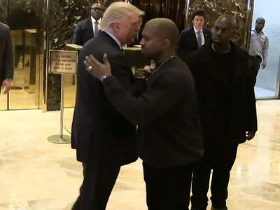 Donald Trump Says He and Kanye Are Buds (VIDEO)