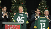 Donald Trump Gets His Own Green Bay Packers Jersey (PHOTO)