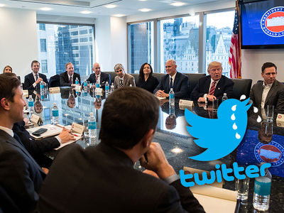 Donald Trump Didn't Invite Twitter to Tech Summit (PHOTO)