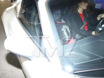 Kim Kardashian Spreads Xmas Cheer at Holiday Party (PHOTOS)
