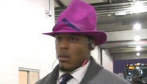 Cam Newton Rocks RIDICULOUS Hat to 'MNF' ... And a Tie! (PHOTO)