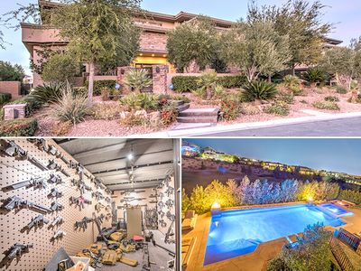 Dan Bilzerian's Vegas Bachelor Pad Up For Sale (PHOTO GALLERY)