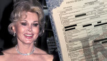 Zsa Zsa Gabor Cause of Death Heart Attack (DOCUMENT)