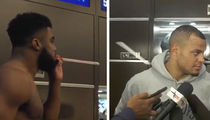 Dak Prescott Remains Cool Under Spitball Pressure From Ezekiel Elliott (VIDEO)