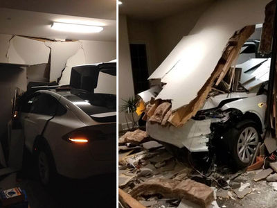 Tesla Sued for Sudden Acceleration Crashes (PHOTO GALLERY)