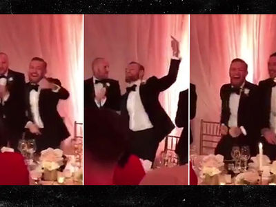 Conor McGregor DANCED HIS FACE OFF at Sister's Wedding (VIDEO)