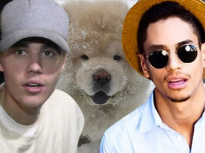 Justin Bieber Gives Away Another Dog, New Owner Paying Hefty Price (PHOTO + VIDEO)