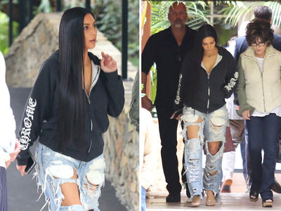 Kim Kardashian's Back in Power Lunch Mode (PHOTOS)