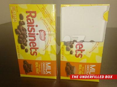 Nestle Sued Over Raisinets (PHOTOS)