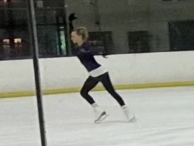 Margot Robbie Cutting the Ice Like Tonya Harding (VIDEO)