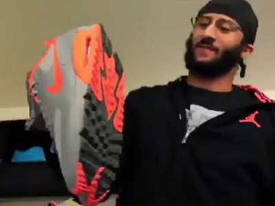 Colin Kaepernick Donates SICK Nike Collection to Needy (VIDEO)