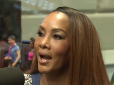 Vivica A. Fox Insists Her Male Strippers Don't Dance for Gay Guys (VIDEO)