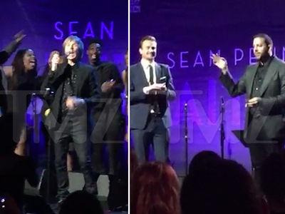 Sean Penn Draws Big Stars at Haiti Fundraiser On Golden Globe Weekend (VIDEO)