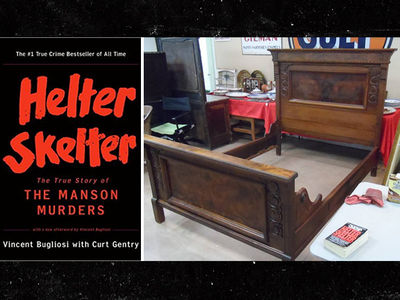 Manson Murders Bed Frame Up For Auction (PHOTOS)