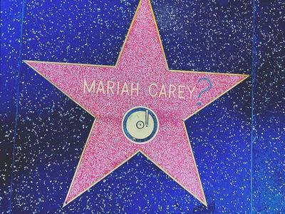 Mariah Carey's Hollywood Star Vandalized, Cops Investigating (PHOTOS)
