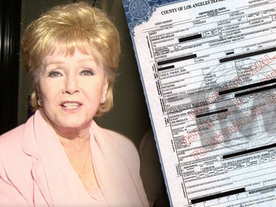 Debbie Reynolds' Death Certificate Confirms Fatal Stroke (DOCUMENT)
