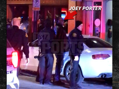 Joey Porter Arrest Video ... Handcuffed, Jawing at Cops (VIDEO)