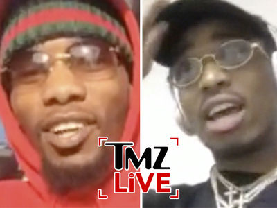 Migos Says Childish Gambino Collab Is Definitely Happening (TMZ LIVE)