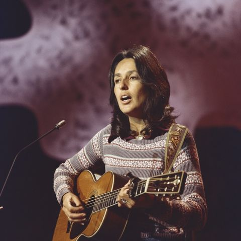 """Joan Baez had the hit song """"Forever Young"""" in 1976, among other great hits."""