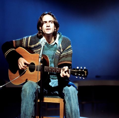 """James Taylor had the hit song """"You've got a Friend"""" in 1971, among other great hits."""