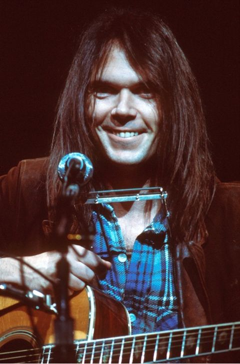 """Neil Young had the hit song, """"Old Man"""" in 1972, among other great hits."""