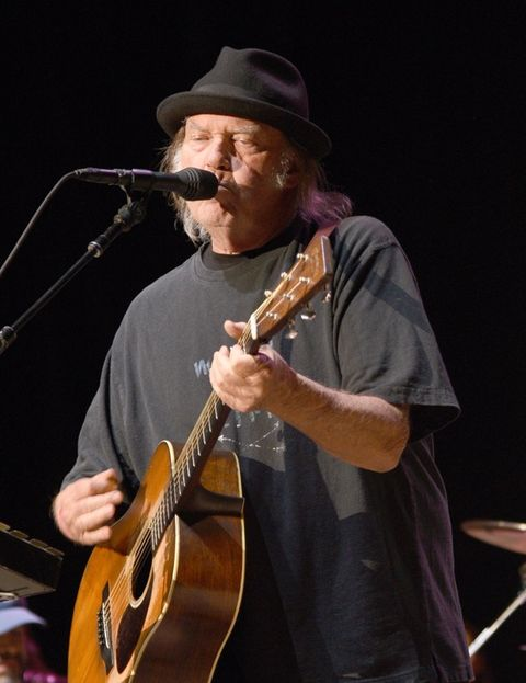 Neil Young is now 71 years old.