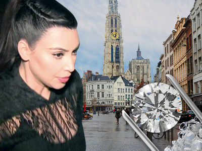 Kim Kardashian's Robbery Suspects Tied To Belgium's Illegal Diamond Trade