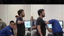Ben Affleck Can't Catch a Break at LAX (VIDEO)