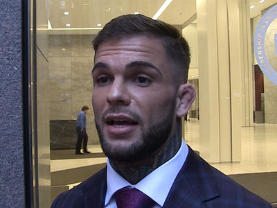 Cody Garbrandt Says Bring On Conor McGregor ... I'm Ready! (VIDEO)
