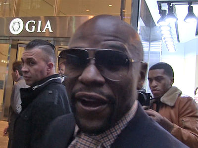 Floyd Mayweather's Going to Trump Inauguration ... 'Hopefully, He'll be a Good Prez!' (VIDEO + PHOTO)
