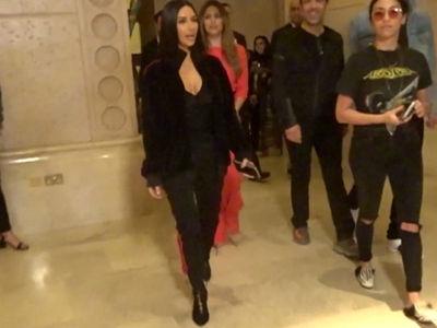 Kim Kardashian Lets Loose in Dubai (VIDEO)